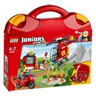 10685-La valise Pompiers Lego Juniors