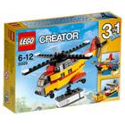 31029-L'Hélicoptère Cargo Lego creator
