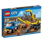 60075-L'excavatrice et le camion