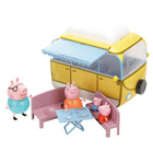 Peppa Coffret Camping-Car avec 4 personnages