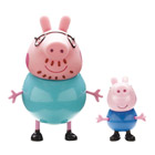 Peppa Blister 2 Figurines (1 adulte et 1 enfant)