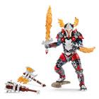 Chevalier dragon héros avec armes