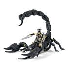 Cavalier monté sur scorpion