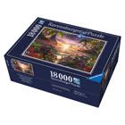Puzzle Paradis soleil couchant 18000 pièces