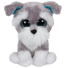 Beanie Boo's-Peluche Whiskers Le Chien 23 cm