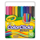 10 Feutres Color Click