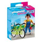 4791-Bricoleur avec matériel et vélo
