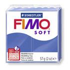 Pâte Fimo soft bleu 57 g