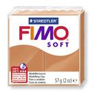 Pâte Fimo soft cognac 57 g