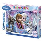 Puzzle 104 Pièces Glitter Frozen