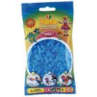 Sachet de 1000 perles à repasser bleu transparent