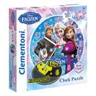 Puzzle Horloge Frozen 96 pièces