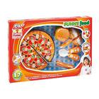 Assortiment fuit ou pizza à découper