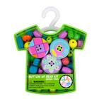 Kit de perles et boutons vert