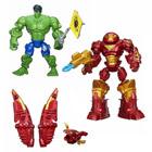 Figurines Iron Man MK 44 Vs Hulk