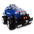 Jeep Radiocommandée Police 28 cm