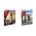 Meccano 2 en 1 Arc de Triomphe/Empire State Building