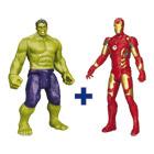 Lot de 2 figurines Avengers électroniques