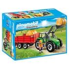 6130-Tracteur avec pelle et remorque - Playmobil Country