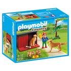 6134-Enfant avec famille de goldens retrievers - Playmobil Country