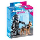 5369-Policier des forces spéciales avec chien