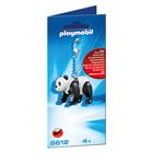6612-Porte-clés Panda - Playmobil