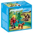 5562-Randonneur avec castors - Playmobil Wild Life