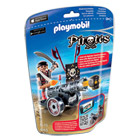 6165-Flibustier avec Canon Noir - Playmobil