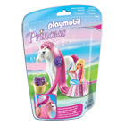 6166-Princesse Rose avec Cheval à Coiffer - Playmobil Princess