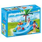 6673-Bassin pour bébés et mini-toboggan