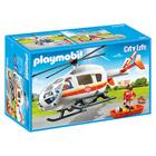 6686-Hélicoptère médical - Playmobil City Life