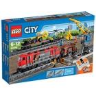 Lego City 60098 Le Train de Marchandises Rouge