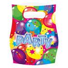 6 Sachets Cadeaux Ballon Party