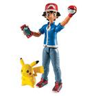 Pokémon-Pack Figurine d'action Sacha & Pikachu