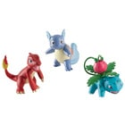 Pack 3 figurines de combat Pokemon