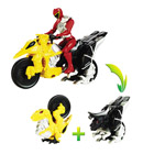 Power Rangers Moto Raptor et Figurine 12 cm