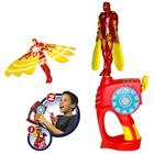 Flying Heros Iron Man Lumineux