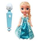 Coffret poupée chantante Elsa + micro