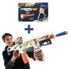Lot Nerf Elite Modulus avec Kit Longue Distance