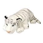 Peluche tigre blanc 76 cm