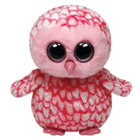 Peluche Boo's 23cm Pinky Le Hibou