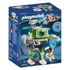 6693-Robot Cleano  - Playmobil Super4