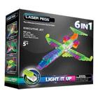 Avion 6 en 1 Laser Pegs