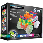 Monster Truck 6 en 1 Laser Pegs