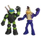 Coffret 2 Figurines Tortues Ninja 12 cm