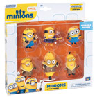 Coffret 6 figurines Minions