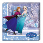 20 serviettes La Reine des Neiges