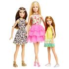 Barbie coffret 3 soeurs floral