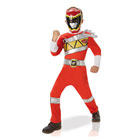 Power Rangers Dino Charge-Déguisement rouge 5/6 ans