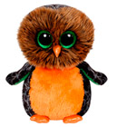 Peluche Beanie Boo's Medium Midnight La Chouette